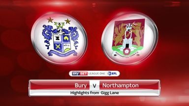 Bury 3-0 Northampton