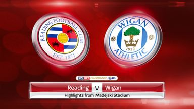 Reading 1-0 Wigan