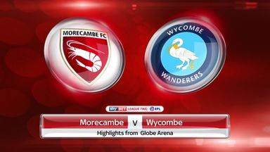 Morecambe 1-1 Wycombe