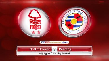 Nottingham Forest 3-2 Reading