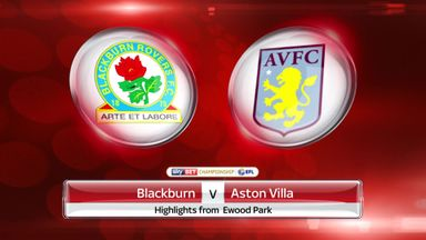 Blackburn 1-0 Aston Villa