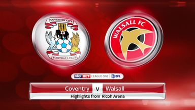 Coventry 1-0 Walsall