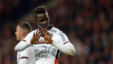 Mario Balotelli scored for Nice