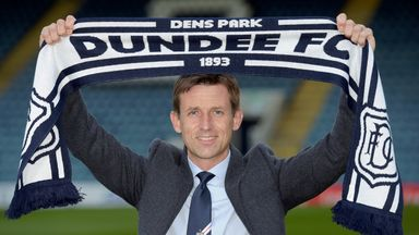 Neil McCann kept Dundee in the Premiership and then took on the manager's role on a permanent basis in June.