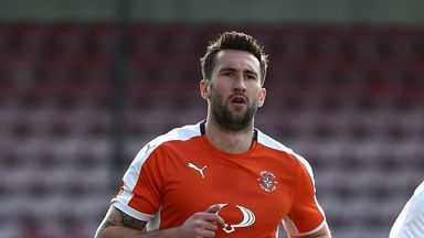 Ollie Palmer netted for Luton Town