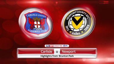 Carlisle 2-1 Newport