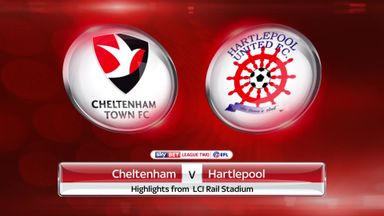 Cheltenham 1-0 Hartlepool