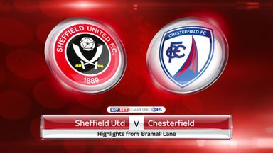Sheff Utd 3-2 Chesterfield