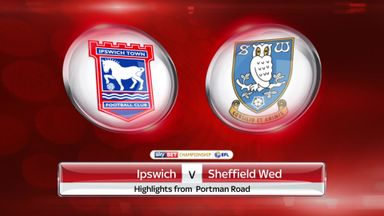 Ipswich 0-1 Sheffield Wed