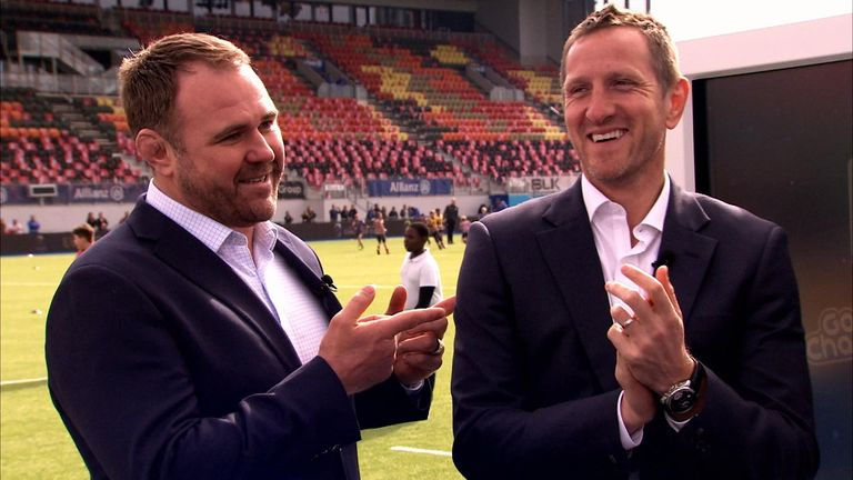Scott Quinnell and Will Greenwood on Sky Sports