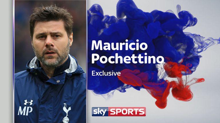 Hear from Mauricio Pochettino ahead of the north London derby - live on Super Sunday
