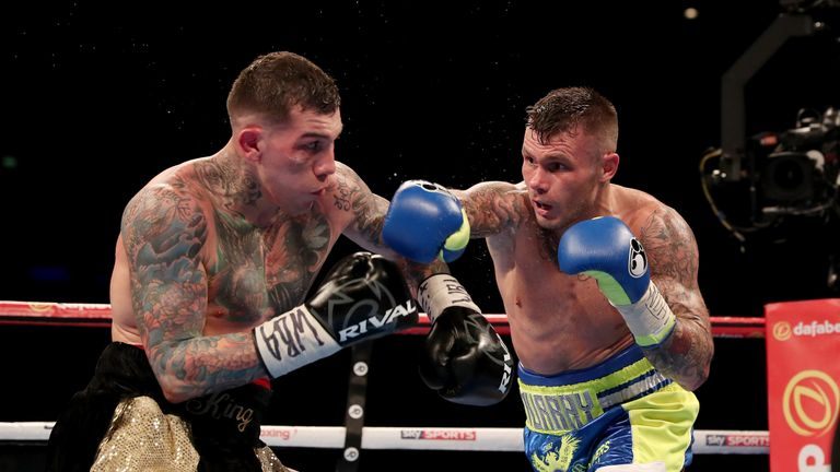 BEAUTIFUL BRUTALITY PROMOTION ECHO ARENA,LIVERPOOL PIC;LAWRENCE LUSTIG WBA Inter-Continental Middleweight Title @11st 6lb MARTIN MURRAY v GABRIEL ROSADO