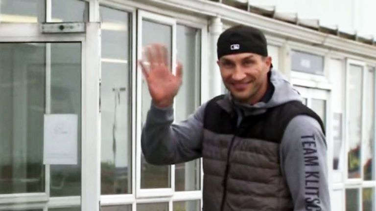 Klitschko has landed