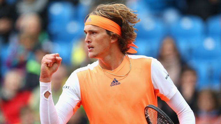 Alexander Zverev will hope to replicate his clay court performances from last year