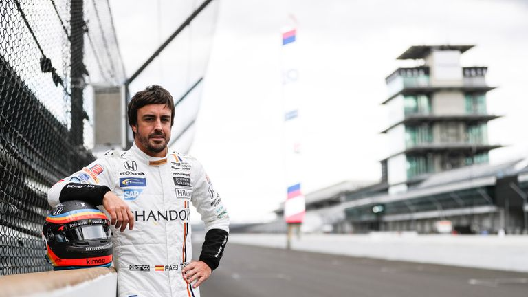 Fernando Alonso completes first test ahead of Indianapolis ...