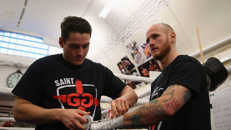Trainer Shane McGuigan has been preparing Groves for his fourth world title fight