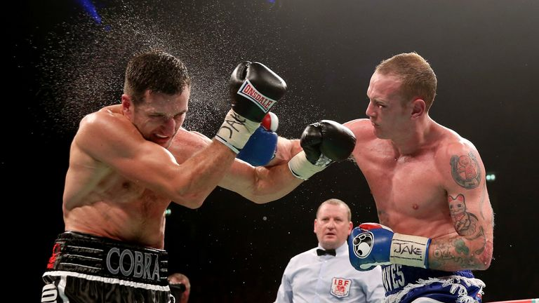 Foster signalled the end of Carl Froch's first world title win over George Groves