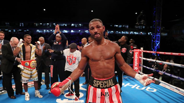 Brook lost his IBF title after succumbing to an eye injury in the 11th round