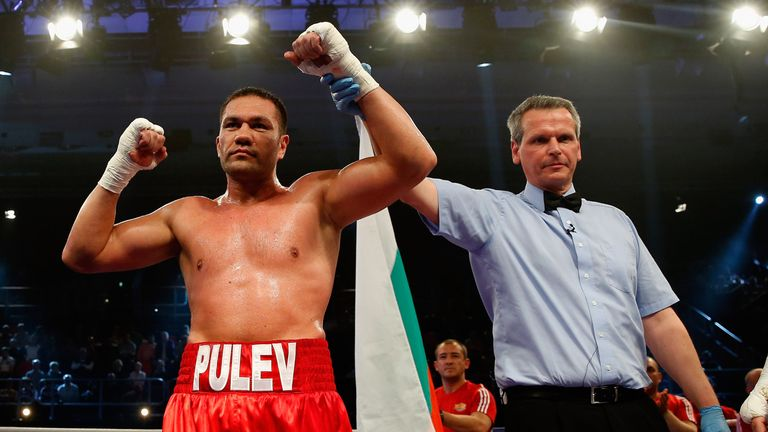 Kubrat Pulev is another possible opponent for Anthony Joshua