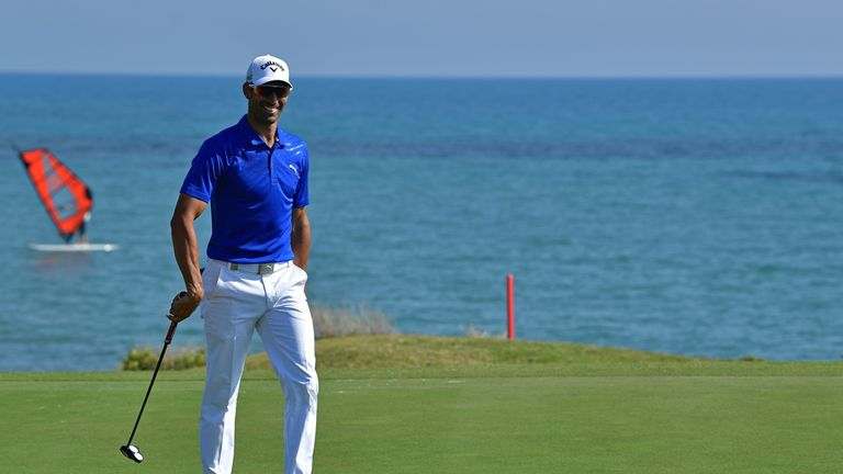 Quiros mixed five birdies with an eagle