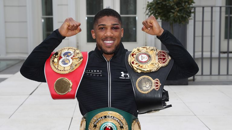Anthony Joshua could head to America after win over Wladimir Klitschko