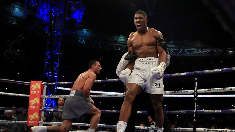 A second Joshua-Klitschko fight could take place in Las Vegas