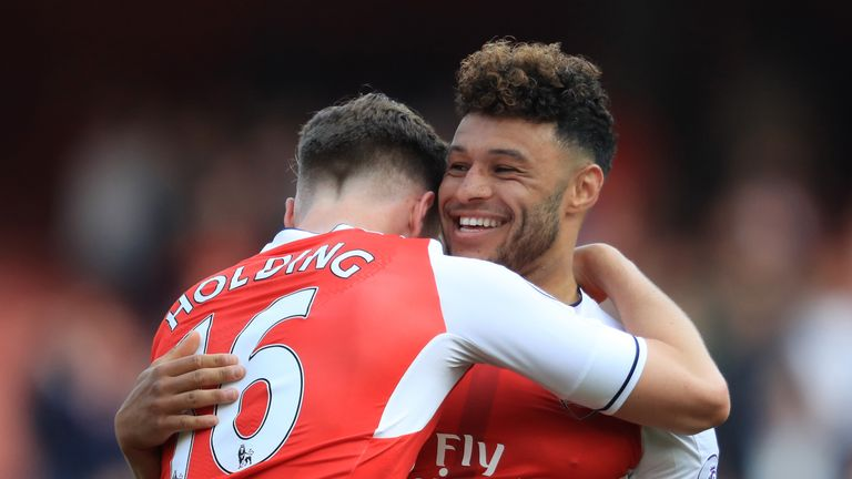Oxlade-Chamberlain impressed in the wing back position for Arsenal last season