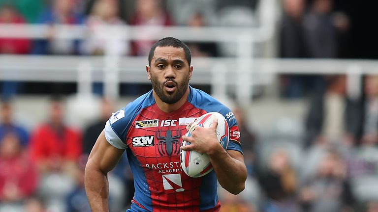 Bill Tupou has excelled on the wing for Wakefield since moving from the centre