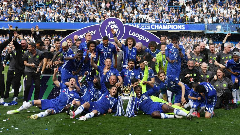 Chelsea won the trophy last season but finished just fifth in this season's Premier League