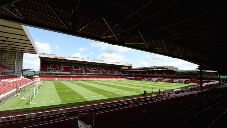 General view of The City Ground, home of Nottingham Forest
