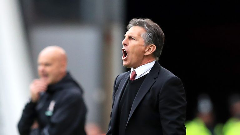 Southampton Manager Claude Puel Faces Sack After Saints Stars Turn Against Him