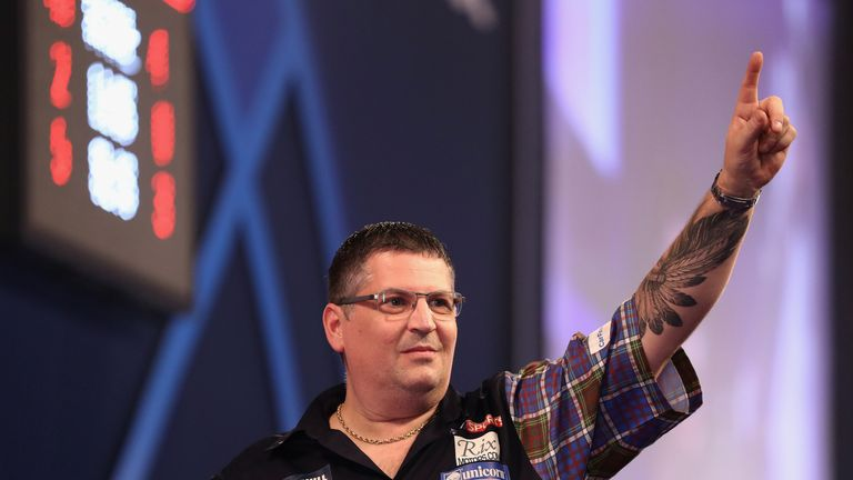 Gary Anderson will face Max Hopp in Germany
