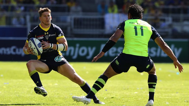 Strettle scored a try in Clermont's win over Leinster in the Champions Cup semi-final last month