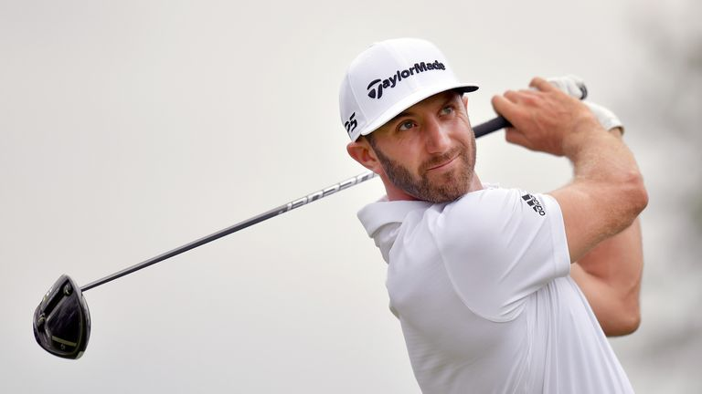 Dustin Johnson says he is looking forward to facing the longest course in major championship history