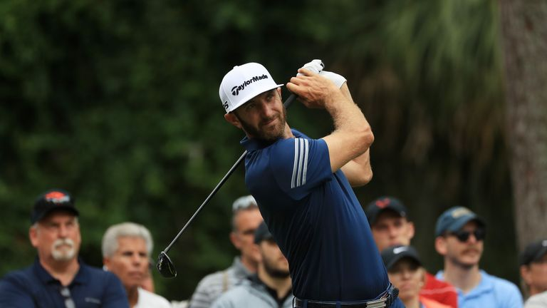 Dustin Johnson recorded his best-ever finish at the Players Championship
