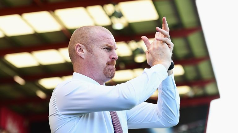 Burnley will only travel 648 miles during their pre-season schedule