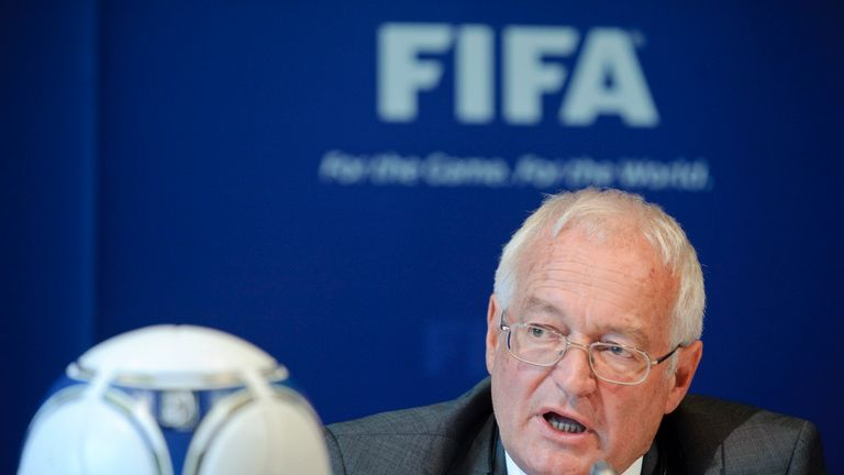 Hans-Joachim Eckert says FIFA had given no indication the Ethics investigators' mandate would not be renewed