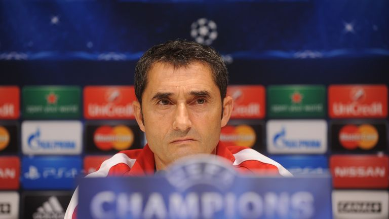 Ernesto Valverde has been appointed Barcelona manager