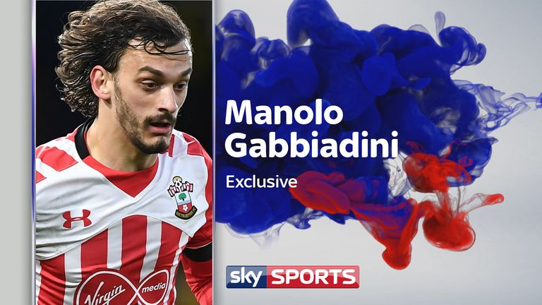 Manolo Gabbiadini spoke exclusively to Sky Sports ahead of the final Premier League weekend