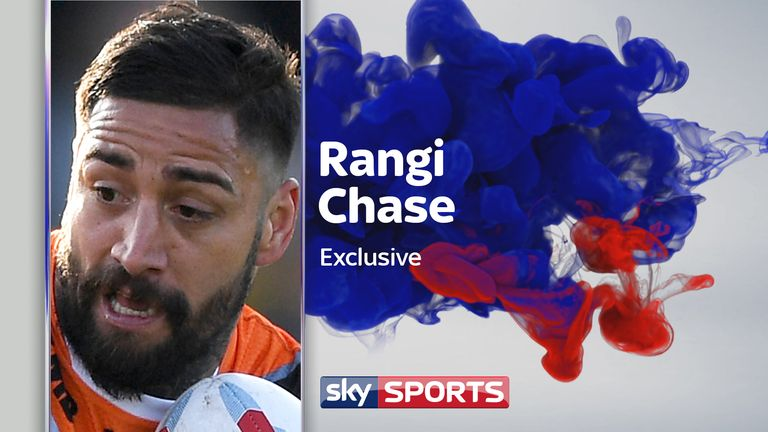 Rangi Chase says Castleford will always have a big place in his heart