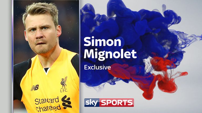 Simon Mignolet spoke with Sky Sports ahead of Liverpool's crucial game with Middlesbrough on Sunday