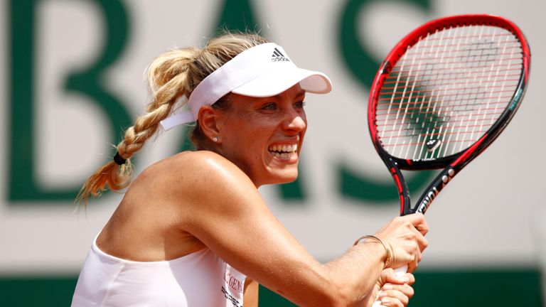 Image result for angelique kerber french open 2017