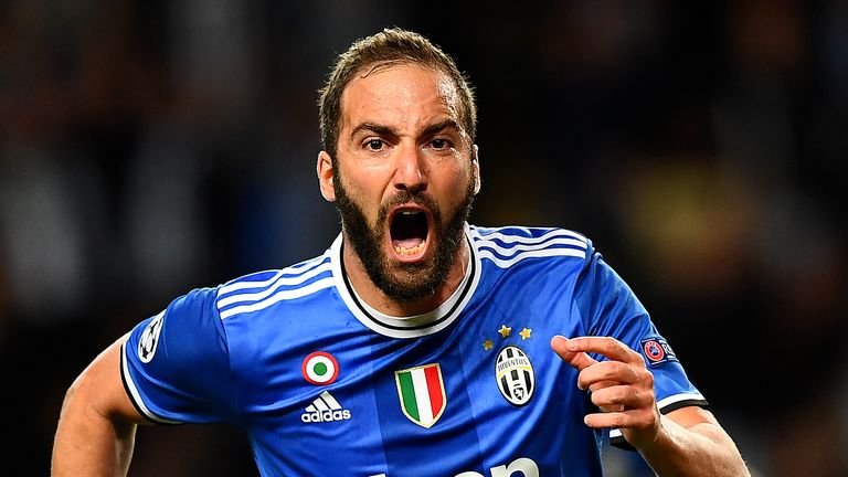 Gonzalo Higuain is wanted by Chelsea