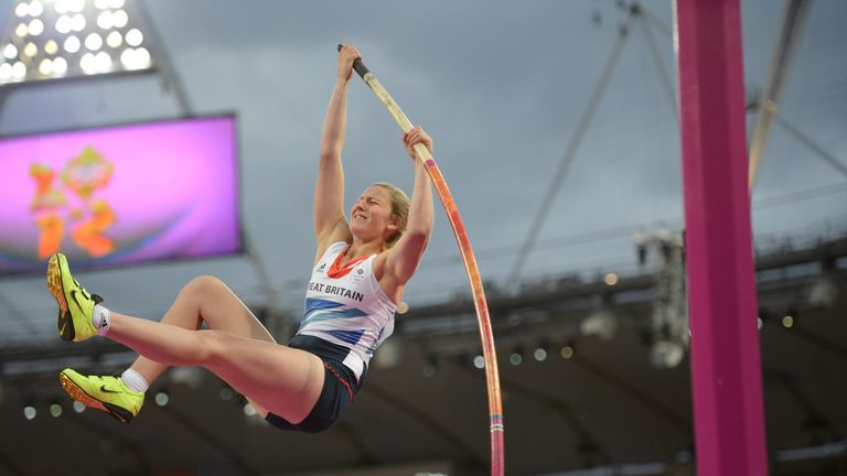 Holly will return to the Olympic Stadium five years after the London Games