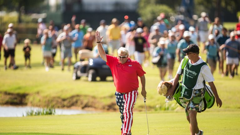Daly clinched his first win since 2004 despite bogeying the last three holes