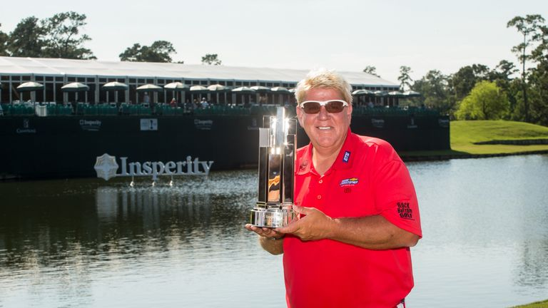 John Daly holds on for 1st PGA Tour Champions win