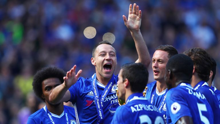 The FA Cup final will be John Terry's last game as a Chelsea player
