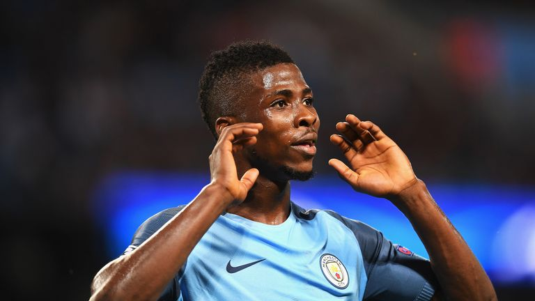 Manchester City forward Kelechi Iheanacho is a summer target for West Ham