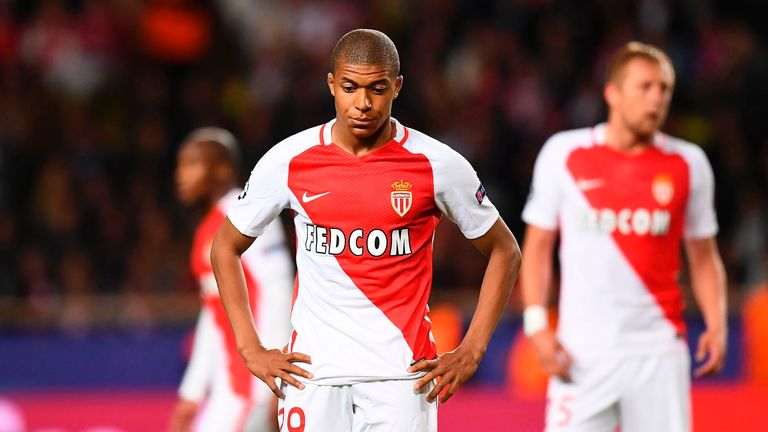 Kylian Mbappe has enjoyed a breakout season at Monaco