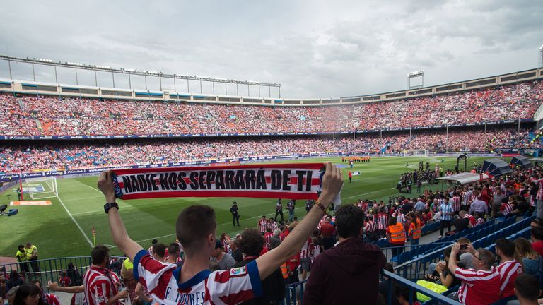 Atletico were playing their final competitive match at their home for the past 50 years